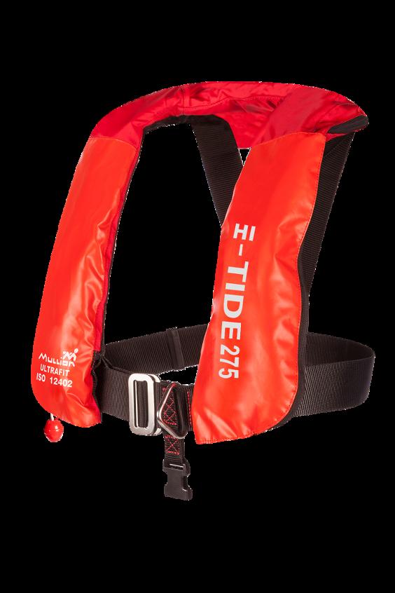Mullion Hi-tide Ultrafit 275N Wipe Clean Lifejacket front