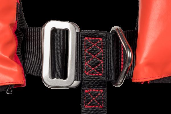 Mullion Hi-tide Ultrafit 275N Wipe Clean Lifejacket harness d-ring