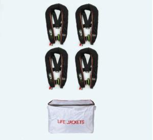 4 Pack SMS Baltic Winner 165N Lifejacket