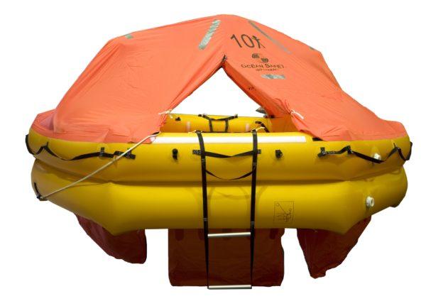 ocean safety ocean iso9650 liferaft 10 front