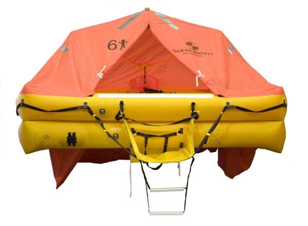 ocean safety ocean iso9650 liferaft 6 front