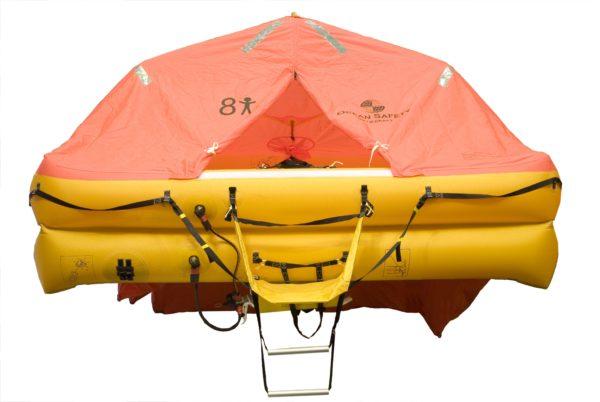 ocean safety ocean iso9650 liferaft 8 front