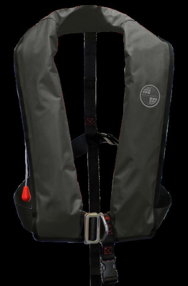 Ocean Safety Kru XF Black lifejacket